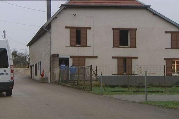 C'est dans cette maison que la dame âgée de 92 ans a trouvé la mort
