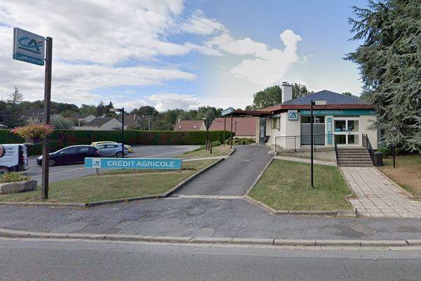 C'est cette agence bancaire du Crédit Agricole à Marseille-en-Beauvaisis dans l'Oise qui a été attaquée le 22 décembre.
