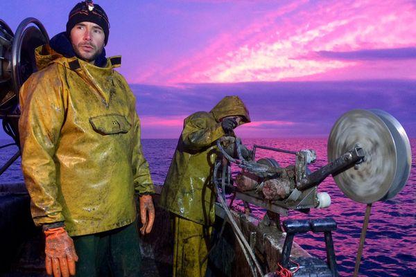 Luc et Erwan, pêcheurs à Leucate, font partie de la flotte de pêche du site internet parisien poiscaille.fr. - mars 2017