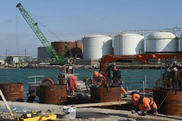 Propriétaire du port de Sète-Frontignan depuis 2007, la Région a engagé la réhabilitation du môle Masselin pour accroître le trafic et améliorer l'accueil des ferries.