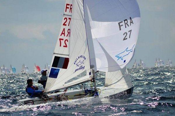 La Bouvet Mion Sailing team en baie de Toulon