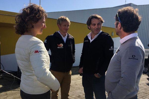 Isabelle Joschke, Maxime Sorel, Yannick Bestaven et Arnaud Boissières réunis le temps d'une grande émission spéciale Vendée Globe 2020/2021