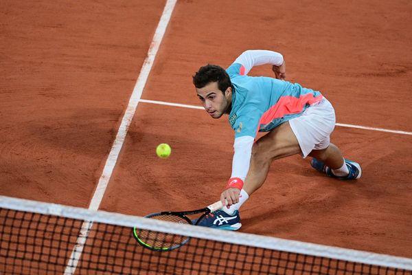 Hugo Gaston s'est incliné face à Dominic Thiem en huitièmes de finale de Roland-Garros mais il a vendu chèrement sa peau.