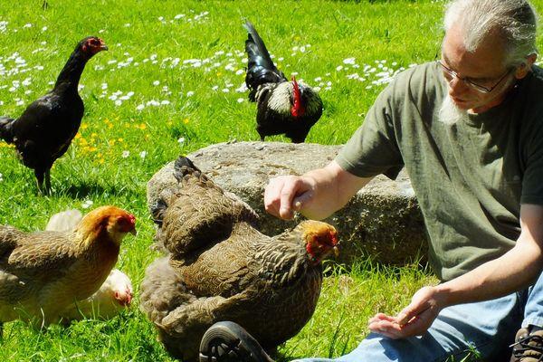Hervé Husson est l'auteur de cinq ouvrages consacrés aux poules.