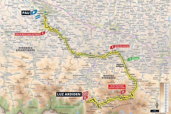 La 18ème étape du Tour de France verra les cyclistes du peloton quitter Pau pour rejoindre la station de ski de Luz Ardiden en passant par le mythique col du Tourmalet. Au programme, 129 kilomètres de course pour finir au sommet à 1715 mètres d'altitude.