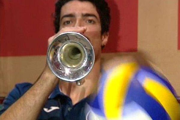 Yacine Louati - joueur de volley du MAVUC Montpellier
