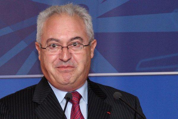 Guy Cotret, le président de l'AJ Auxerre