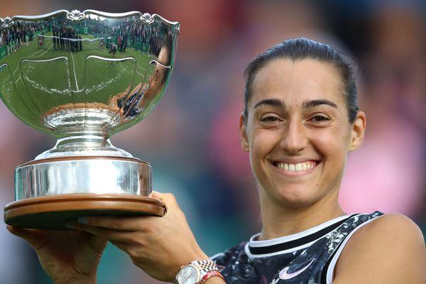 Première victoire de l'année en circuit WTA