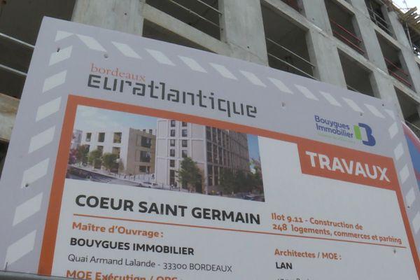 Le quartier Euratlantique, une métamorphose des quartiers sud de Bordeaux.