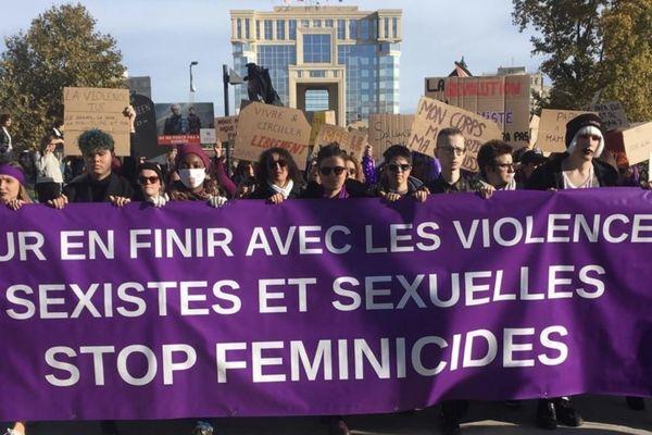 C'était le 23 novembre 2019, lors des manifestations contre les violences sexistes et sexuelles, organisées dans toute la France.Ici, à Montpellier.