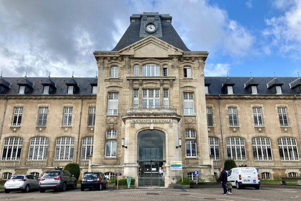 La maternité régionale de Nancy, mai 2021. Les sages-femmes demandent une revalorisation salariale et une meilleure reconnaissance de leur métier.