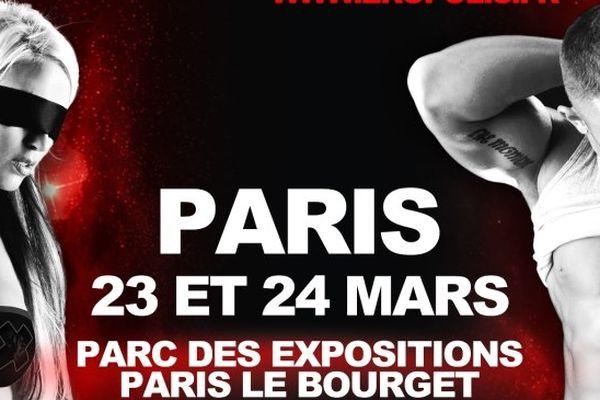 La Salon de l'érotisme de Paris avait lieu les 23 et 24 mars au Parc des expositions du Bourget