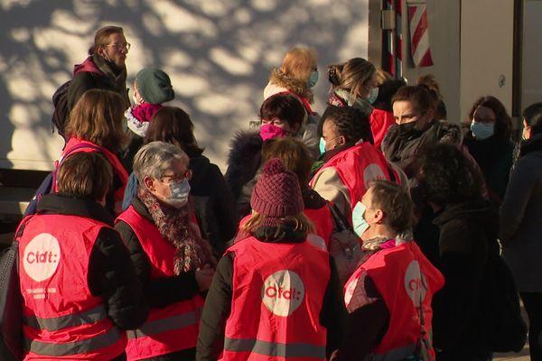 58 des 70 sites d'accueil (école et sites périscolaires) de Besançon sont fermés ou complètement désorganisés ce jeudi 26 novembre.