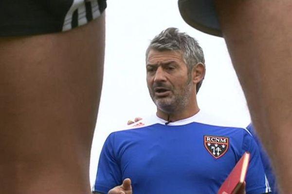 Le manager du RC Narbonne Christian Labit avant le derby face à Béziers - 6 octobre 2016