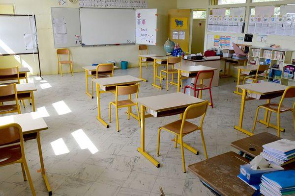 Les 4 mètres carré par élève ne sont désormais plus obligatoires pour la reprise du 22 juin.