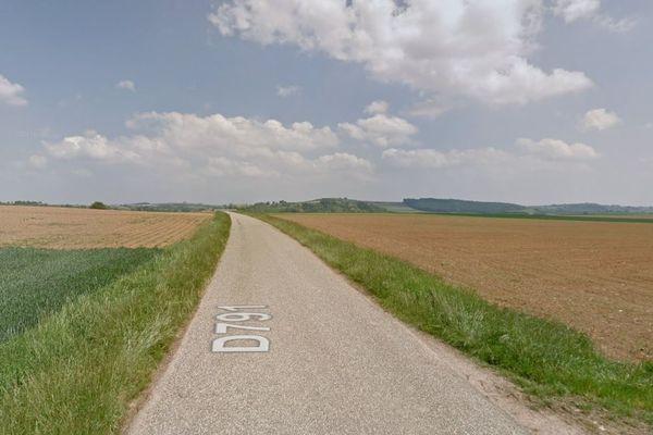 La commune d''Ettendorf a subi un épisode de sécheresse en avril 2020.