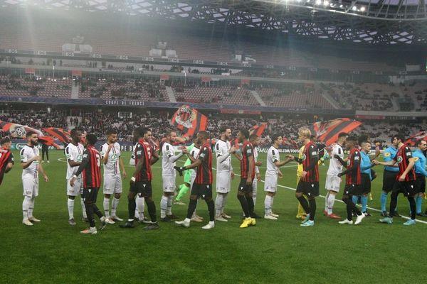 32e coupe de France : les Aiglons de l'OGC Nice contre l'Etoile de Fréjus-Saint-Raphaël.