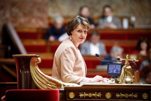 Annie Genevard à l'Assemblée nationale, le 3 mars 2020.