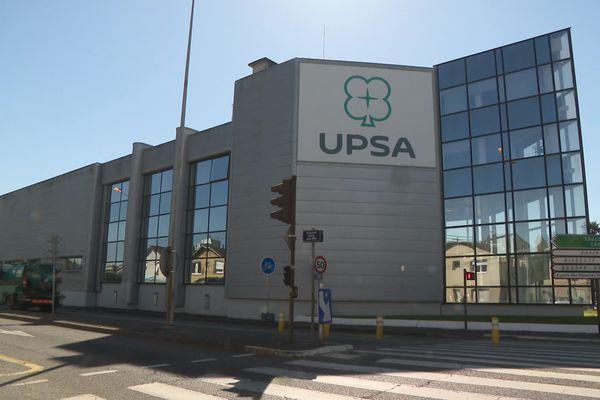 Le site d'UPSA à Agen, en Lot-et-Garonne, en plein malaise depuis un an et demi selon les syndicats.