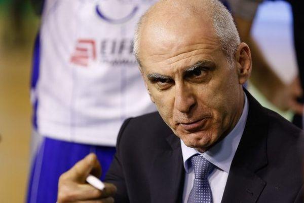 Le coach du CCRB, Nikola Antic.