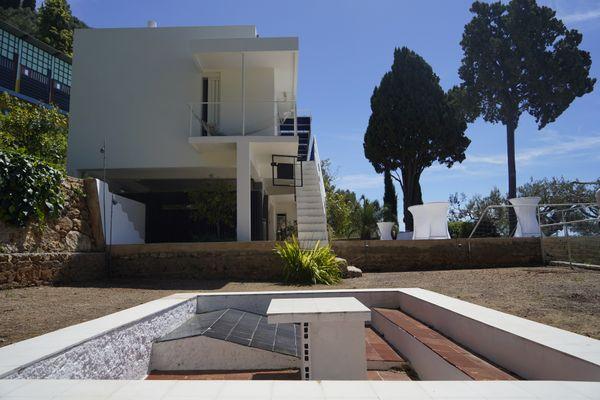La villa E-1027 d'Eileen Gray et Jean Badovici a été restaurée comme en 1929, date de sa création.