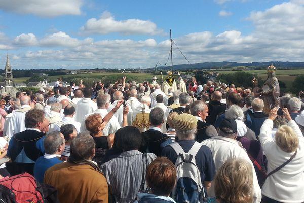 Des milliers de fidèles ont assisté au pardon cette année