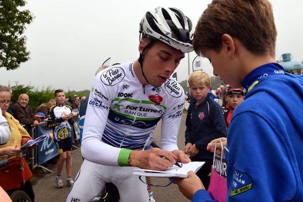 Elie Gesbert remporte la première étape du tour du Limousin