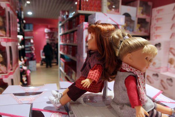 La poupée Corolle est née à Langeais en Indre-et-Loire.