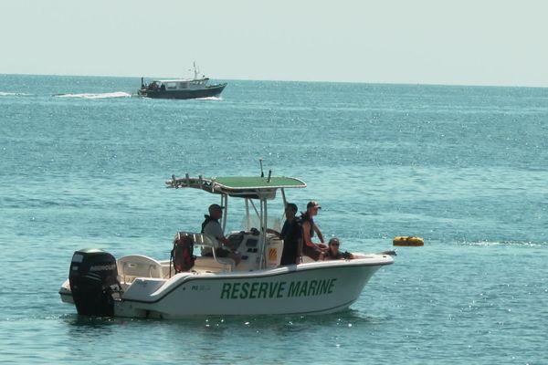La Réserve Naturelle Marine s'étend sur 650 hectares.
