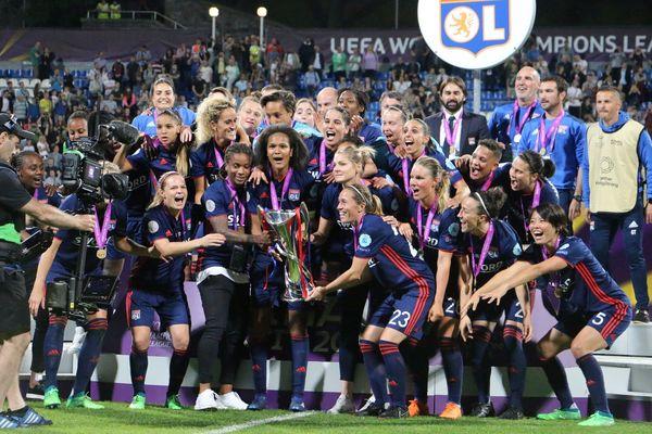 L'Olympique Lyonnais a remporté en 2018 sa 3ème Ligue des Champions féminine d'affilée à Kiev