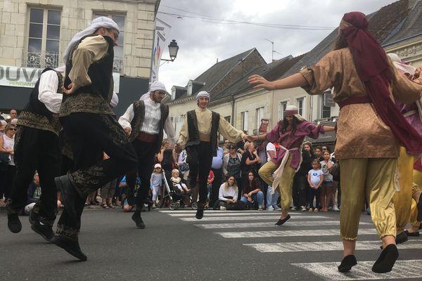 La troupe de danseurs du Liban : l'ensemble Saint Jean Marc de Byblos