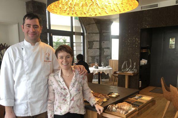 Emmanuel Hebrard et sa femme Estelle ont ouvert leur restaurant en 2016. Lundi 21 janvier, ils ont obtenu leur première étoile que Guide Michelin.