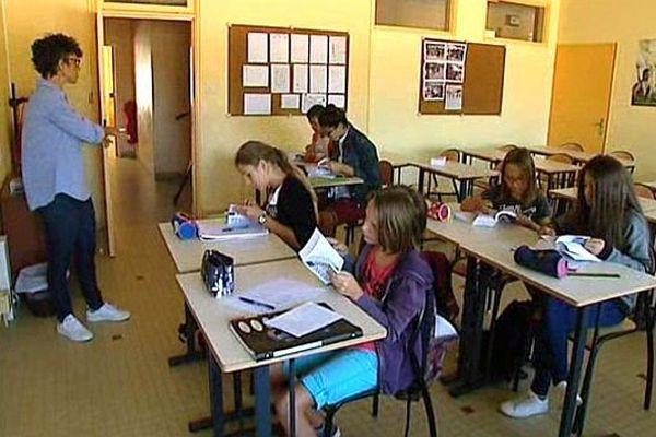 """A Mâcon, 40% des élèves de CM2 ont choisi participer à l'opération """"école ouverte""""."""