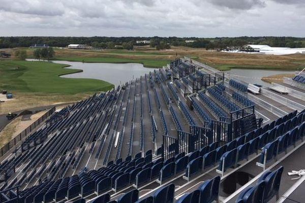 Le Golf national de Saint-Quentin-en-Yvelines est prêt à recevoir fin septembre la Ryder Cup.
