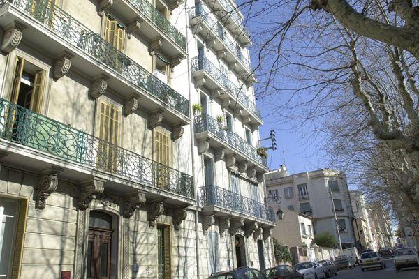 Le quartier du Mourillon à Toulon