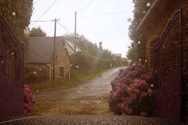 Petite pluie et soleil à Kereven