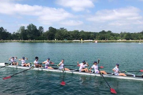 Le bateau rémois, champion de France 2019