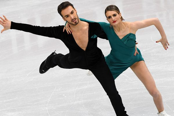 Le couple Français Gabriella Papadakis - Guillaume Cizeron en tête du classement provisoire des Championnats d'Europe 2019 de danse sur glace à Minsk.