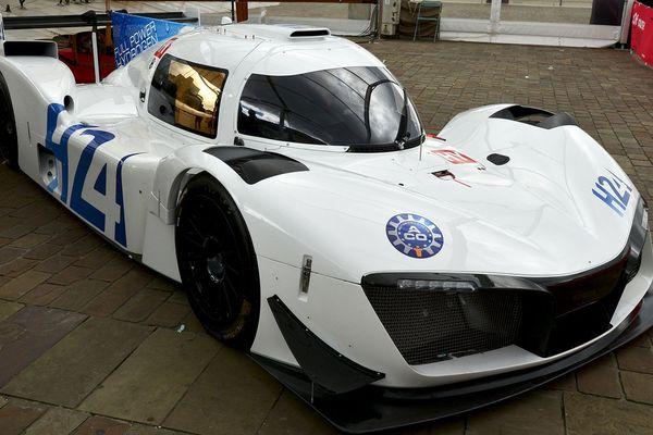 La LMPH2G, c'est le nom de code de ce prototype de course électrique à hydrogène.