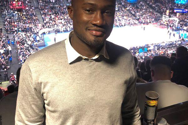Pape-Philippe Amagou, ancien basketteur professionnel, deux fois champion de France, consultant pour France 3