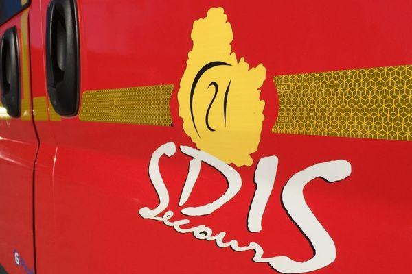 Un véhicule du SDIS (Service Départemental d'Incendie et de Secours)