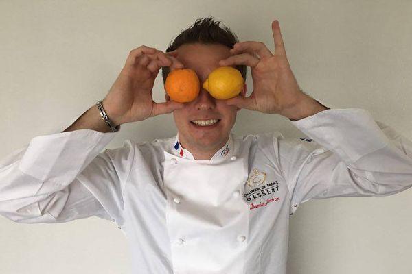 Le chef pâtissier Damien Gendron se rendra au Concours international de desserts de restauration les dimanche 23 et lundi 24 octobre 2016