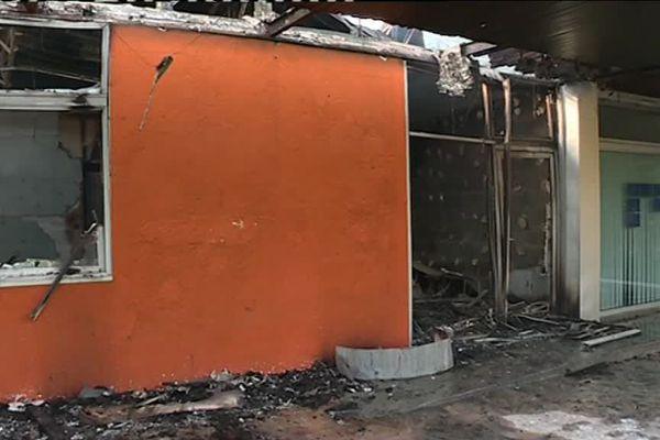 Le centre médical du Breil a été incendié dans la nuit du 3 au 4 juillet 2018 à Nantes