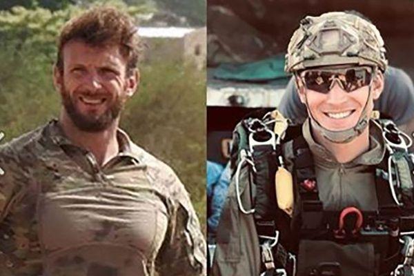 Cédric de Pierrepont et Alain Bertoncello, les 2 soldats français tués au Burkina Faso.