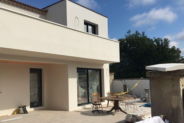 La maison située à Juvignac était en rénovation - 3 juin 2020