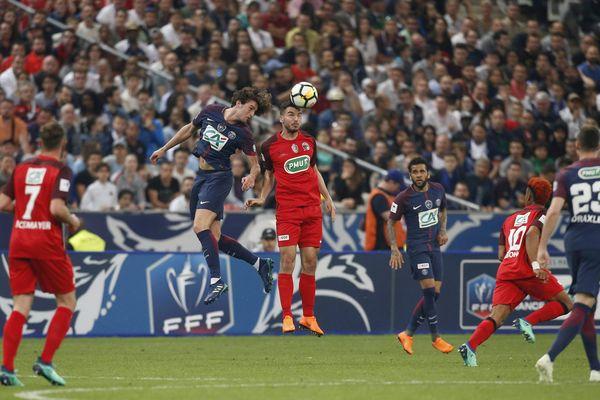 Les rouge et noir le 5 mai 2018 au Stade de France face au PSG pour la coupe de France