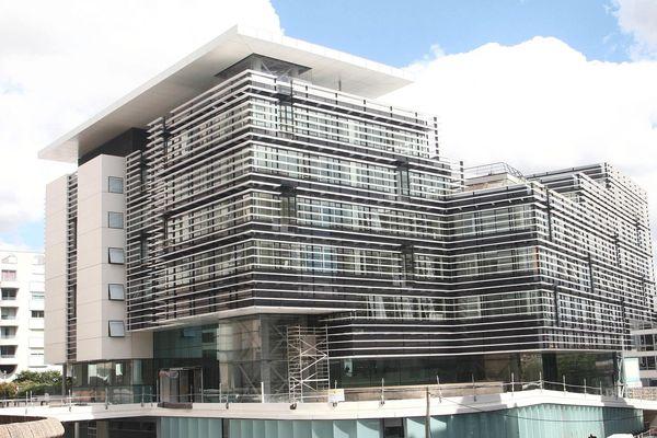 Le bâtiment du Conseil Général de la Gironde