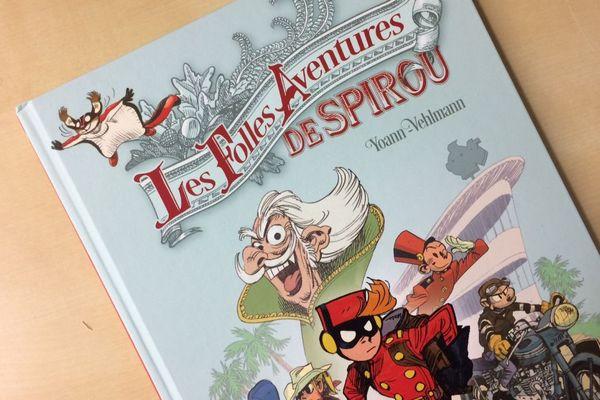 Les folles aventures de Spirou aux éditions Dupuis