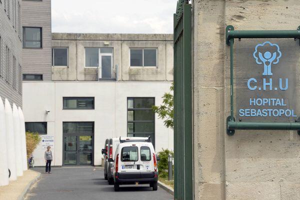 Vincent Lambert est pris en charge à l'hôpital Sébastopol de Reims