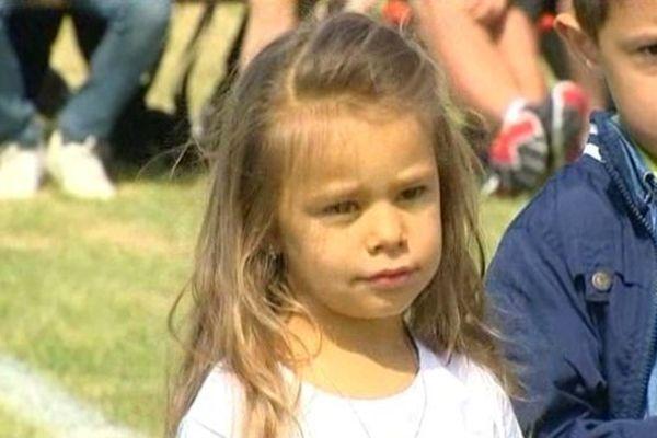 Elena, 3 ans est la seule Lorraine atteinte de la maladie de Crigler-Najjar